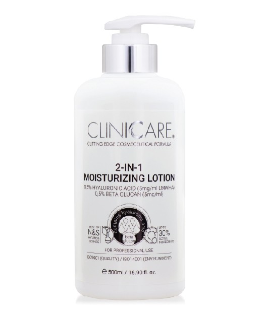 ClinicCare 2in1 Moisturizing Lotion termékkép