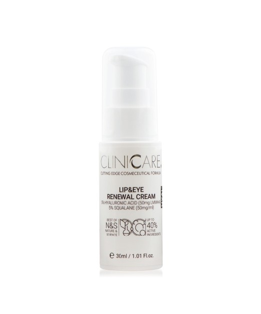 ClinicCare Lip&Eye Renewal Cream termékkép