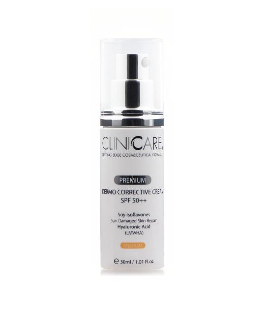ClinicCare Premium Dermo Corrective Cream SPF50+ - Prémium Dermakorrekciós Fényvédő Krém SPF50+ - 30ml