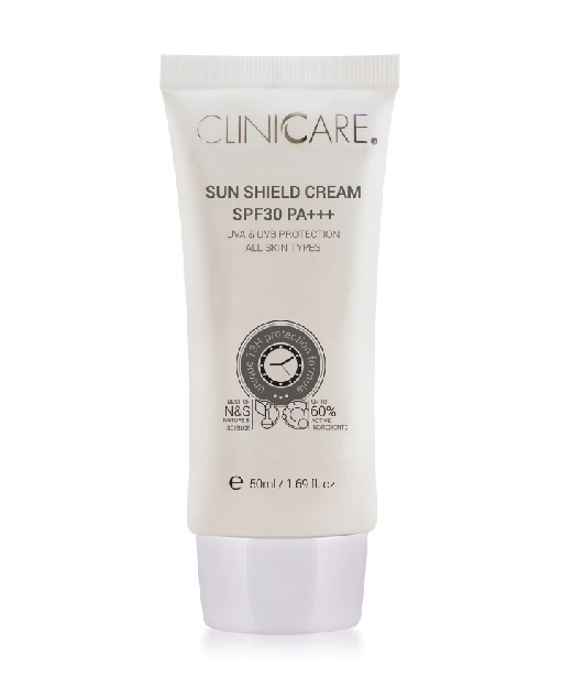 ClinicCare Sun Shield Silky Cream SPF30+ termékkép