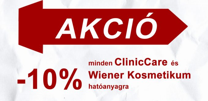 ClinicCare akció 2020
