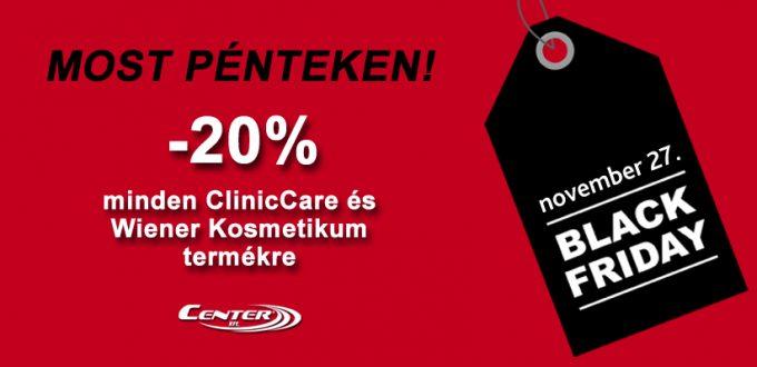 20% kedvezmény minden ClinicCare kozmetikumra